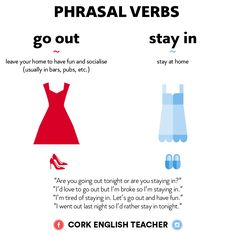 Phrasal Verbs - Go Out / Stay In. Are you going out or staying in tonight?