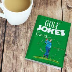 Personalised Golf Jokes Giftbook From Something Personal