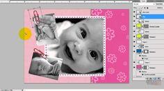 Tutorial Scrapbook digital con photoshop pagina sencilla parte 2/2