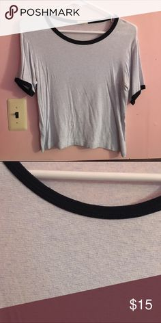 Brandy Melville Striped Nadine OSFM, brandy striped Nadine. Good condition, no flaws. policy: NO SWAPS!  free shipping through ️️, comment for try ons or offers! Brandy Melville Tops