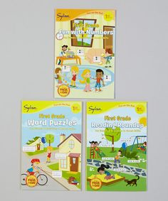 Take a look at this 1st Grade Fun With Numbers Paperback Set by Sylvan on #zulily today!