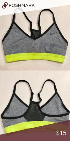 10e1291ece Under Armour Sports Bra Size L but runs small. Wore one time. Gift ...