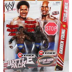 DARREN YOUNG & TITUS O'NEIL WWE BATTLE PACKS 21 WWE Toy Wrestling Action Figures