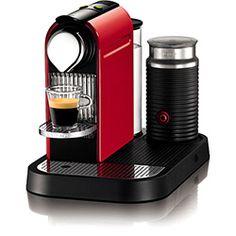 Máquina de Café Nespresso CitiZ & Milk Red - 19 Bar