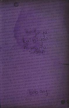 Ang mga Kaibigan ni Mama Susan by Bob Ong Tagalog Words, Filipino, Free Ebooks, Book Worms, Sample Resume, Tattoo Quotes, My Books, Nerd, Writing