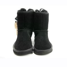 Women UGG Outlet Bailey Button 5808 Black Ugg Boots Sale, Ugg Boots Cheap, Sheepskin Ugg Boots, Ugg Bailey Button, Ugg Boots Australia, Short Boots, Uggs, Calves, Cool Style