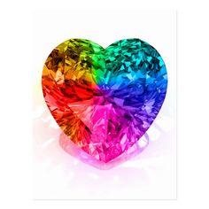 Taste The Rainbow, Rainbow Heart, Over The Rainbow, White Rainbow, Rainbow Connection, Heart Shaped Diamond, Photo Heart, Diamond Are A Girls Best Friend, Love Heart