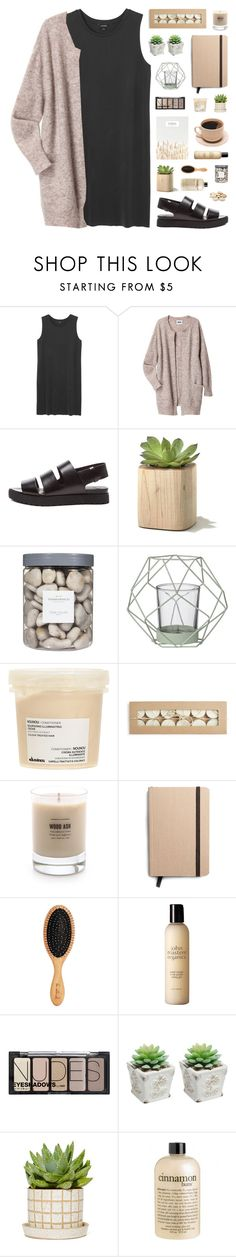 """~ 111315"" by khieug on Polyvore featuring Monki, Acne Studios, Alexander Wang, Threshold, Bloomingville, Davines, Baxter of California, Shinola, John Masters Organics and H&M"