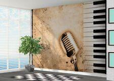 Music Wallpaper Murals for sale 3d Wallpaper Mural, Normal Wallpaper, Music Wallpaper, Photo Wallpaper, Mural Cafe, Mural Wall Art, Wall Decal, Piano Keys, Vinyl Art