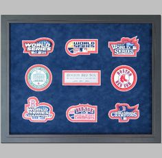 Boston Red Sox World Series sports memorabilia! | The Great Frame Up | Naples, FL | www.naples.thegreatframeup.com/ |