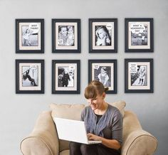 Speech and Thought Bubble Picture Frames