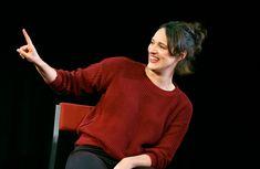 NTLive: Fleabag Phoebe Waller Bridge, National Theatre, Comedians, Make Me Smile, Men Sweater, Turtle Neck, Songs, Sweaters, Movies