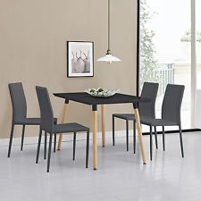 Hygena Luna Extendable Dining Table 1 Bench & 2 Chairs The