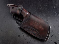 Custom cleaver knife 243