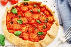 Tortilla with tomatoes