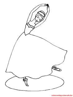 balerina-szinezo-53 Balerina, Snoopy, Fictional Characters, Art, Art Background, Kunst, Performing Arts, Fantasy Characters