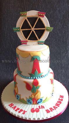 Fairground cake