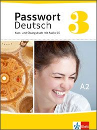 Passwort Deutsch 3 - neue Ausgabe von einem Klassiker im DaF-Unterricht. If you are looking for a book with extra exercises, this is a great choice. Ideal for individual tuition as well.