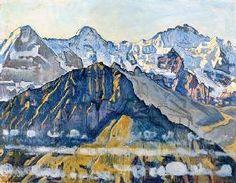 Ferdinand Hodler - Eiger, Mönch und Jungfrau in der Sonne