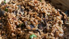 Para incrementar o arroz integral de sempre!