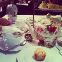 High tea at Toronto's Windsor Arms Hotel in Yorkville - Friends anni date! High Tea, Windsor, Eat Cake, Arms, Pudding, Friends, Places, Desserts, Food