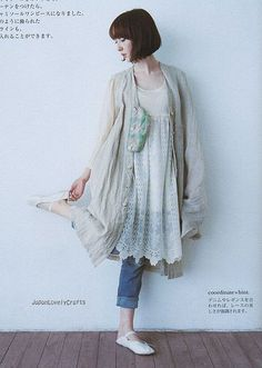 EASY SEWING FOR REMAKE CLOTHES AND GOODS BY HANNAH TANAKA - JAPANESE CRAFT PATTERN BOOK 10 by JapanLovelyCrafts, via Flickr