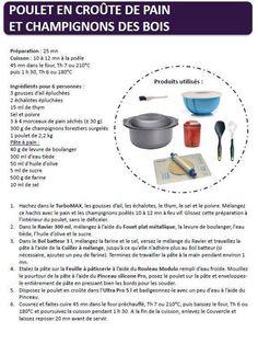 Poulet en croûte de pain et champignons des bois recette ultra pro https://www.facebook.com/Les-ateliers-tupperware-de-V%C3%A9ro-426295820791943/timeline/