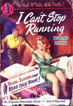 """I Can't Stop Running"" by Edward Ronns in England via the New Fiction Press…"