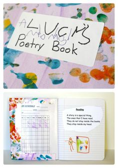 Do your kids like reading and writing poetry? DIY Kids Poetry Book