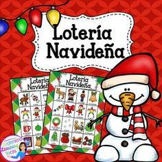 It's almost that time of year! The Winter Holidays are right around the corner and to make it a little more fun and exciting for my kids, I created this colorful Lotería Navideña. With this packet you will have access to 43 callereu cards and 18 Loteria cards