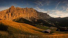 Gruppo Sella - Dolina Gardena i masyw Sella  -Dolomity