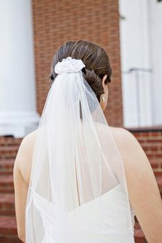 hairpiece with detachable veil