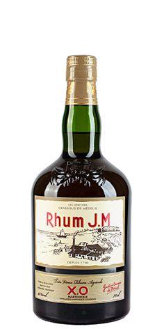 Rhum JM XO. Martinique's finest rum.