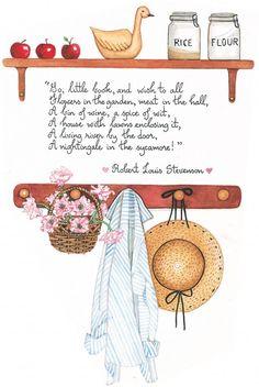 """this little book"" ~ Susan Branch"