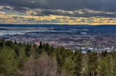 View from Grefsenkollen. Oslo, Mountains, Nature, Travel, Naturaleza, Viajes, Trips, Off Grid, Natural