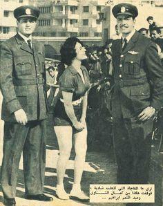 Shadya - kamal elshenawy - Abdel el moneim Ibrahim - Egyptian Vintage Movie Stars