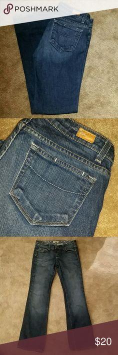 Paige premium denim Dark wash denim Paige Jeans Jeans Boot Cut