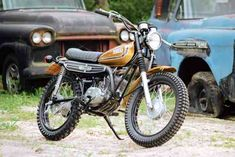 Joe Rankin revives a ready-for-the-scrap-heap Yamaha CT3.