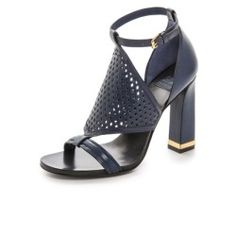 dcbbd6303b25 Tory Burch Doris High Heel Sandals - Newport Navy - product - Product  Review Tory Burch