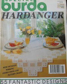 Burda Hardanger Pattern Magazine by TheHowlingHag on Etsy, $9.95
