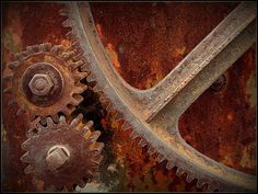 Why are old rusty machines so damn cool looking? Rust In Peace, Peeling Paint, Fire Heart, Beautiful Mess, Linocut Prints, Misfits, Texture, Dark Wood, Decay