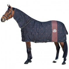HV Polo Heavy Weight Combo Turnout Rug Dark Brown
