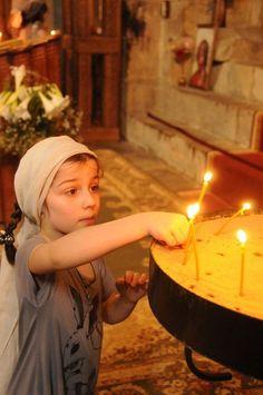 Little Orthodox Christian Girl