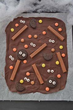 Barrette di Cioccolato di Halloween (Halloween Candy Bark) ~ Morsi di Stile - Storie e spunti(ni) di gusto