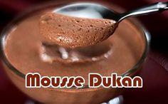 Dieta Thins Dieta Dukan Mousse Al Cioccolato - Dukan - Dukan Diet Plan, Dukan Diet Recipes, Gelatina Light, Cena Light, Doce Light, My Favorite Food, Favorite Recipes, Healthy Snacks For Adults, Sweet Recipes