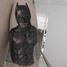 batman tattoo I did last week