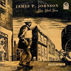1950 James P. Johnson - New York Jazz 10- LP