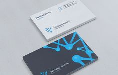 Creative examples of business cards. A powerful and professionally designed highly-creative business cards design can effectively promote your business. Modern Business Cards, Business Card Logo, Business Card Design, Creative Business, Graphic Design Blog, Web Design, Self Branding, Health Tips For Women, Health Lessons