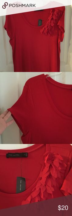 Brand new The Limited top red top Brand new with tags. Red. Size xl. The Limited Tops