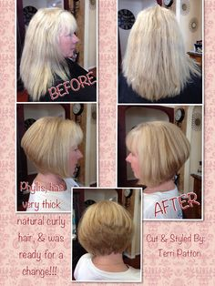 What an amazing new look for her... She Loved it!